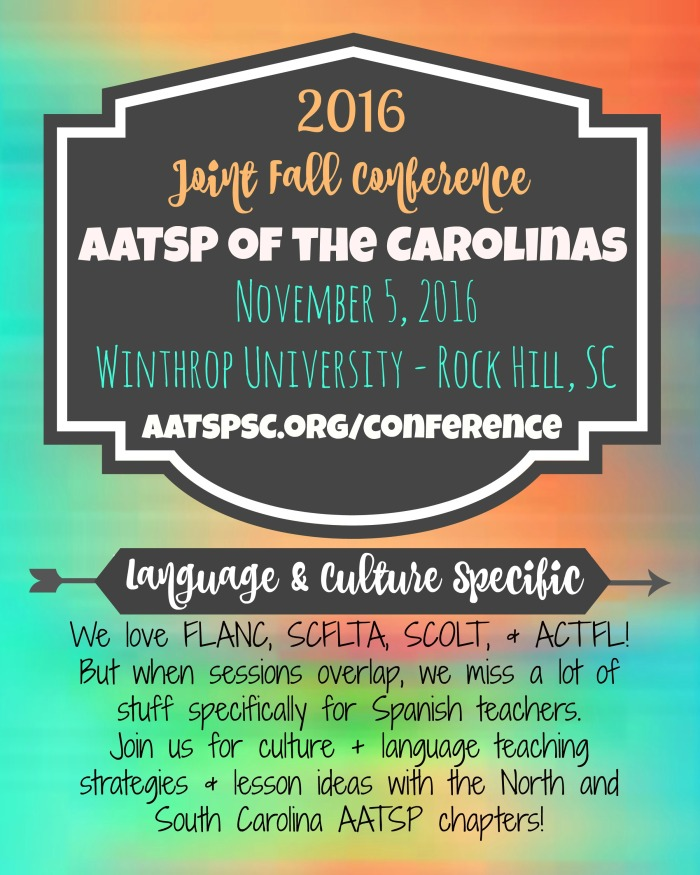 2016 AATSP Fall Conference Flyer